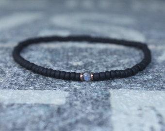 Labradorite bracelet, Mens Gift, Love Bracelet, Gift for Men, Boyfriend Gift, Husband Gift, Gift for Boyfriend, Gift for Husband, Couples