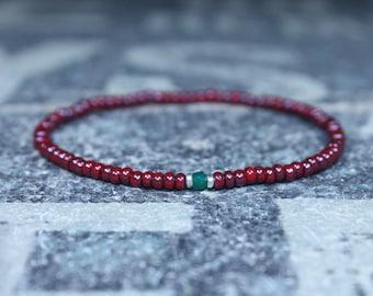 Gifts for Men, Onyx, Friendship Bracelet, Black Bracelet, Mens Bracelet, Beaded Bracelet Boyfriend Gift Gift for Boyfriend, Gifts for Him
