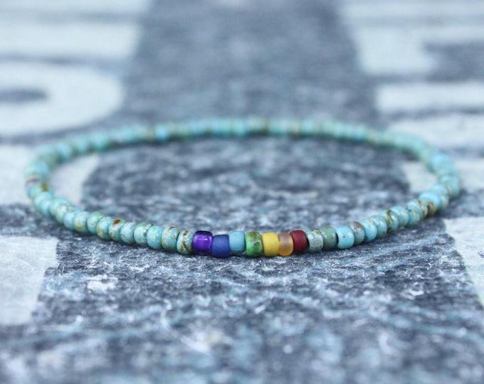 Chakra Bracelet, Mala Bracelet, Mens Beaded Bracelet, Birthstone Bracelet, Boyfriend Gift, Mens Gift for Men, Mens Bracelet, Birthday Gift