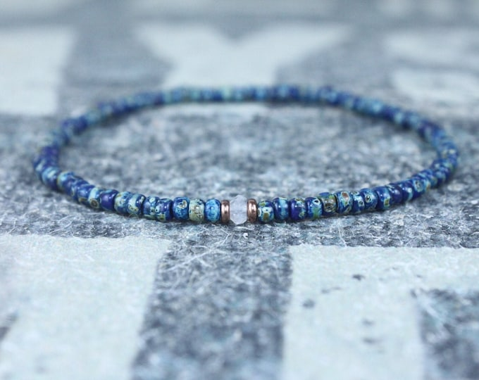 Gifts for Men, Moonstone, Friendship Bracelet, Mens Bracelet, Beaded Bracelet, Boyfriend Gift, Gift for Boyfriend, Gifts for Him