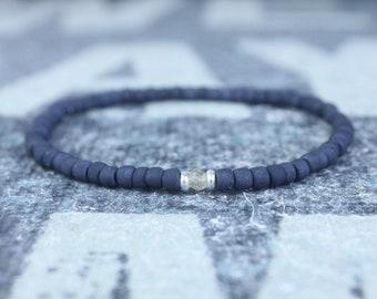 Citrine Bracelet, Men's Beaded Bracelet, Mens gifts, Gift for Husband, Boyfriend Gift, Birthstone bracelet, Anniversary Couples Bracelet
