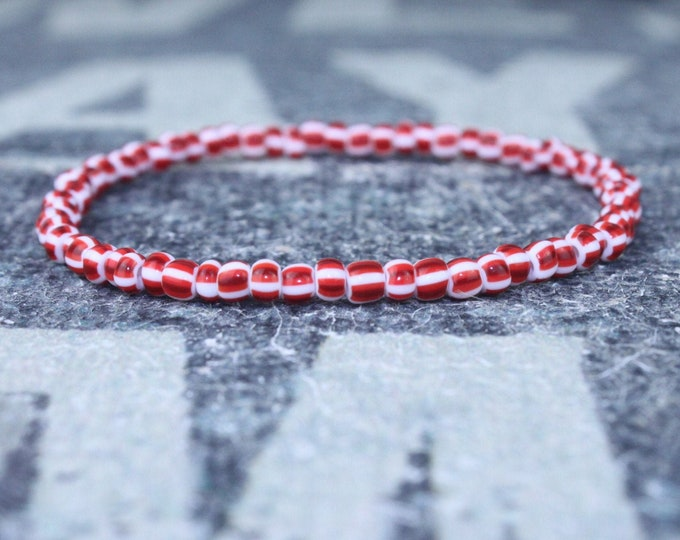 Mens Beaded Bracelet, Anniversary Gift, Mala Bracelet, Mens Gift, Gift for Boyfriend, Bracelet, Couples Bracelet, Surfer Beaded Bracelet