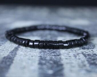 Gifts for Men, Onyx, Friendship Bracelet, Black Bracelet, Mens Bracelet, Beaded Bracelet, Boyfriend Gift, Gift for Boyfriend, Gifts for Him