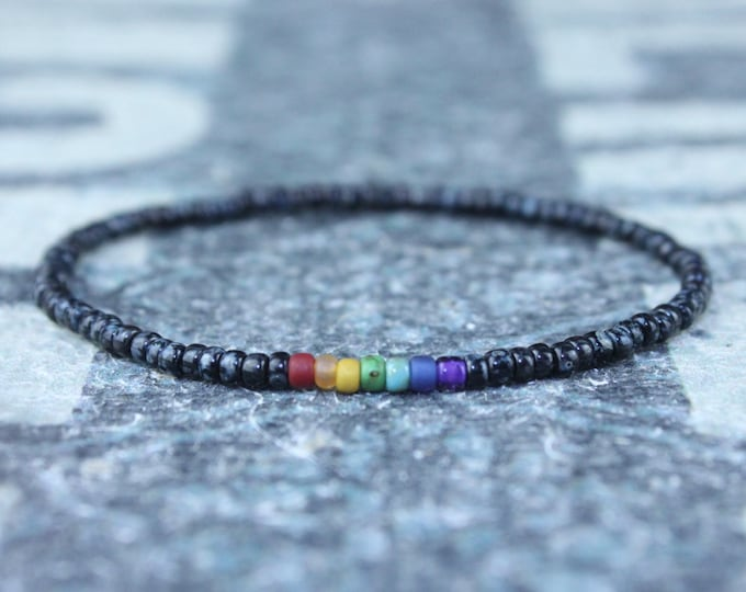 Chakra Bracelet, Mala Bracelet, Mens Beaded Bracelet, Birthstone Bracelet, Boyfriend Gift, Mens Gift for Men, Mens Bracelet, Birthday Gift