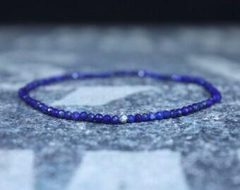 Mens Bracelet, Lapis Lazuli Bracelet, Mala Bracelet, Mens Bracelet, Mens Gift Bracelet, Beaded Bracelet, Bead Bracelet, Mens Jewelry