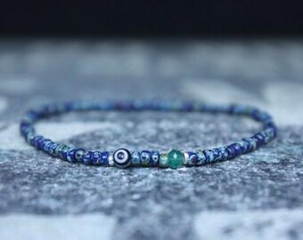 Gifts for Men, Onyx, Friendship Bracelet, Evil Eye Bracelet, Mens Bracelet, Bead Bracelet, Boyfriend Gift, Gift for Boyfriend, Gifts for Him