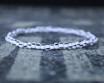 Mens Beaded Bracelet, Anniversary Gift, Mala Bracelet, Mens Gift, Gift for Boyfriend, Bracelet, Couples Bracelet, Bead Bracelet