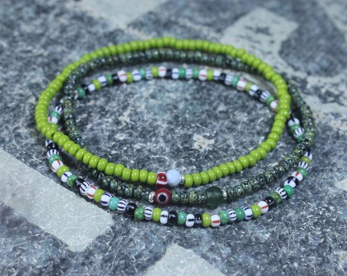 Opal Bracelet Men, Jade Bracelet Men, Multicolor Mens Jewelry, Boho Bracelet, Minimalist Bracelet, Mens Gift, Boyfriend Gift, Gift for Men