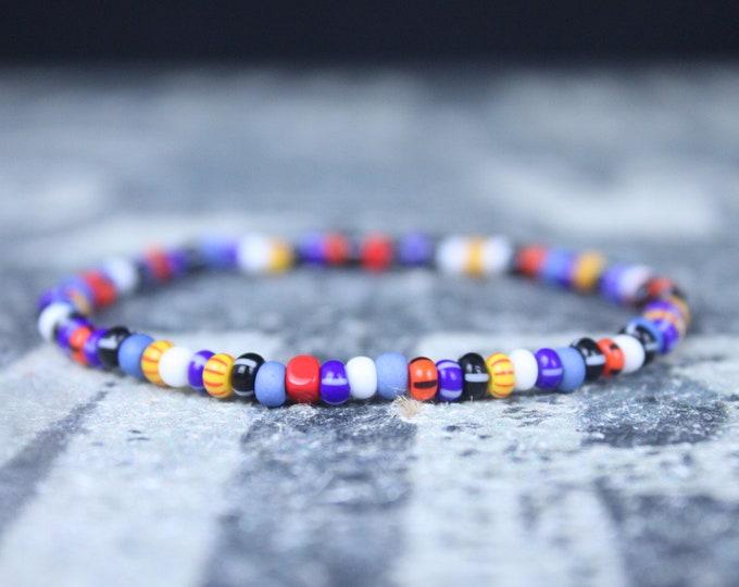 Featured listing image: Kabbalah, Mens Beaded Bracelet, Anniversary Gift, Mala Bracelet, Mens Gift, Gift for Boyfriend, Bracelet, Couples Bracelet, Bead Bracelet