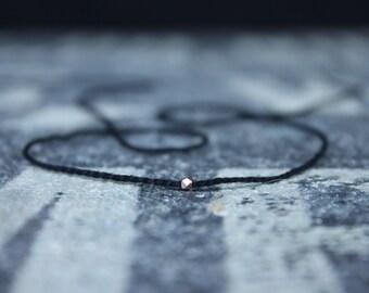Wish Bracelet, String Bracelet, Kabbalah Bracelet, Men Bracelet, 24k RoseGold Vermeil KarenHill Bead, Couples Bracelet, Anniversary Gift