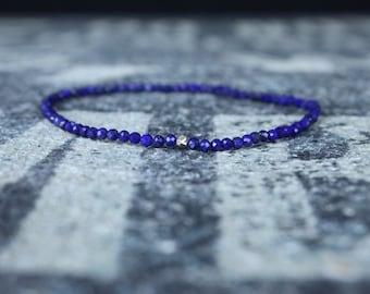 Mens Bracelet, Lapis Bracelet, Mens Beaded Bracelet, Mens Jewelry, Mens Gift Bracelet, Beaded Bracelet, Bead Bracelet, Mens Jewelry