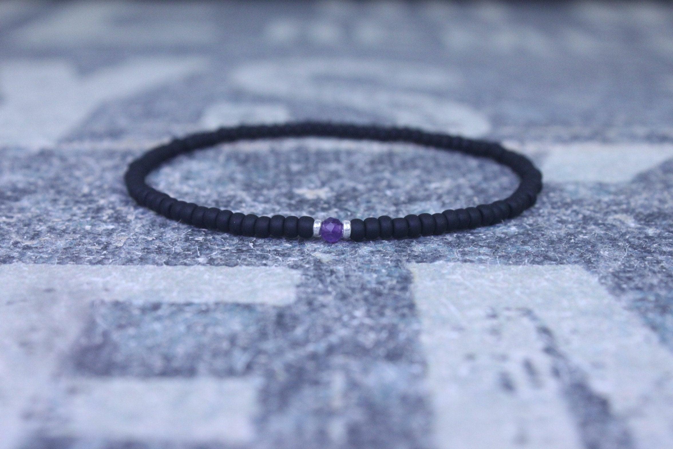Men/'s Gemstone Bracelet Men/'s Bracelet Husband Gift Men/'s Jewelry Men/'s Beaded Bracelet Men/'s Strech Bracelet Male Men/'s Gift