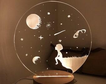 Celestial Nightlight LED Lamp