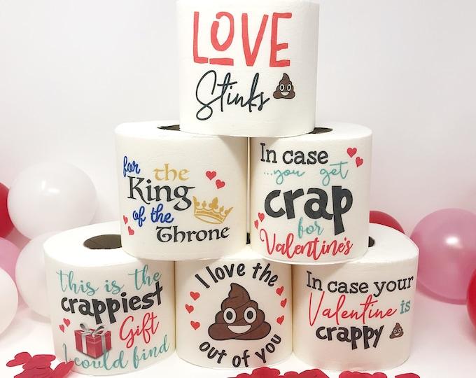 Valentine's Toilet Paper