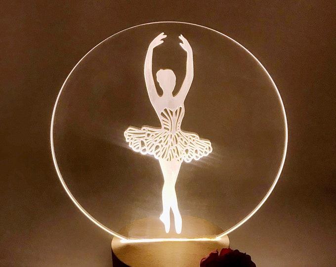 Ballerina Nightlight LED Lamp
