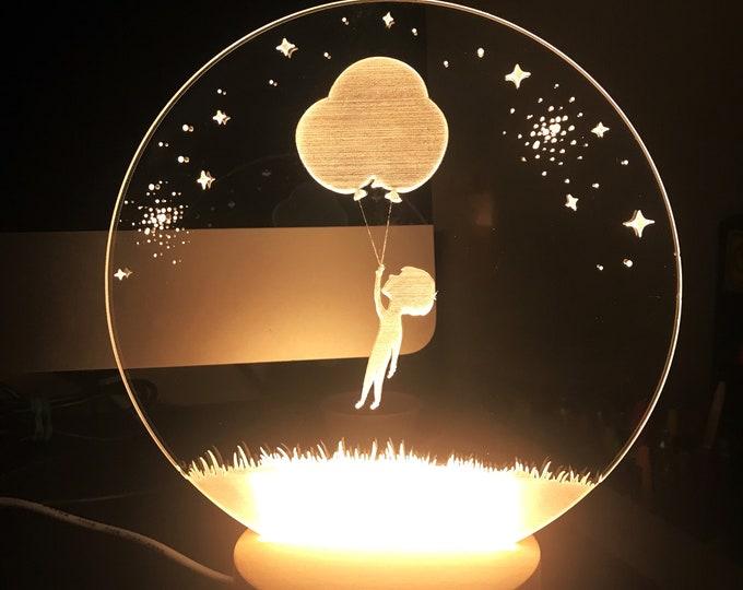 Stars Nightlight LED Lamp