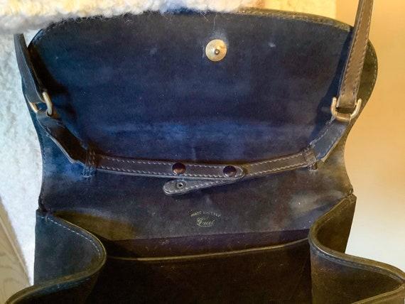 Gucci 1970s Suede Shoulder Bag - image 4