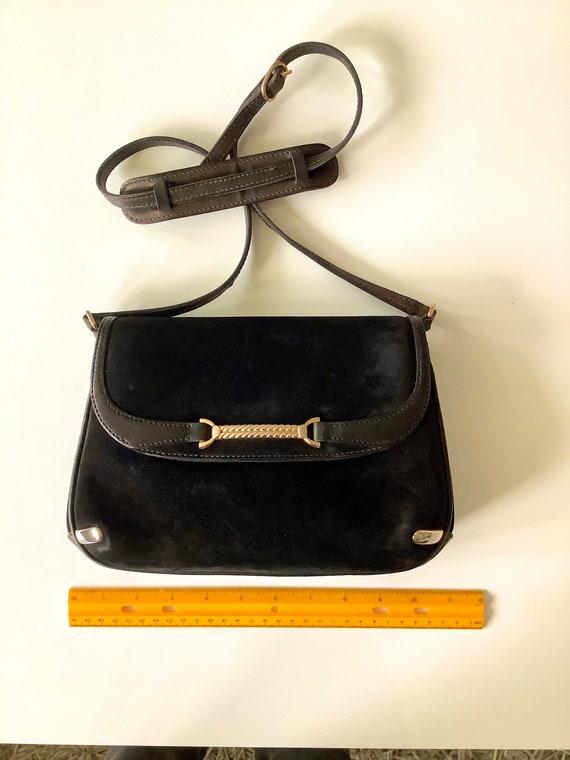 Gucci 1970s Suede Shoulder Bag - image 6