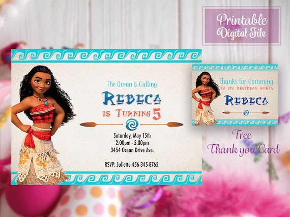 photograph relating to Printable Moana Invitations referred to as Moana celebration, Moana Invitation, Moana birthday, Printable Moana, Moana invite, Moana Printables, Moana birthday invitation, Moana bday, Moana