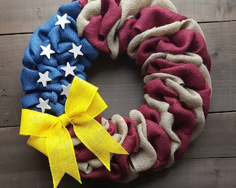 Support Troops Yellow Ribbon Purse Hanger