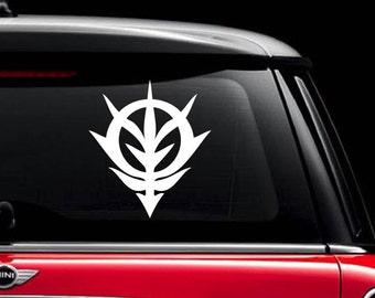 Gundam Neo Zeon Emblem Vinyl Decal Sticker car laptop wall decor