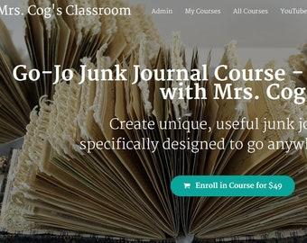 Healing Junk Journal Course Online Class Instructional | Etsy