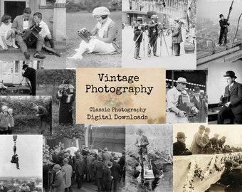 Vintage Photography - Digital Ephemera, Digital Images, Vintage Photos, Instant Download, Digital Collage, Vintage Images