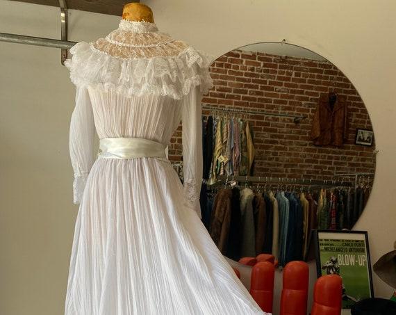 70s Gunne Sax Wedding Gown By Jessica McClintock