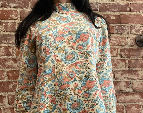 70s Psychedelic Cotton Tunic