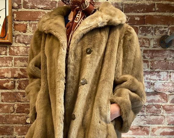 70s Blond Faux Fur
