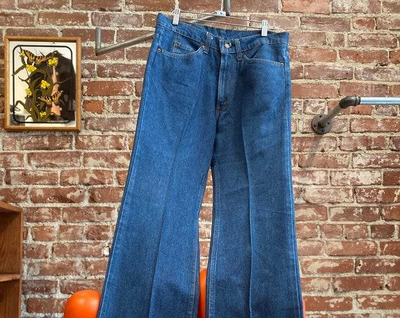 "70s Men's Levi's 517 Jeans 33"" waist by 36"" inseam"
