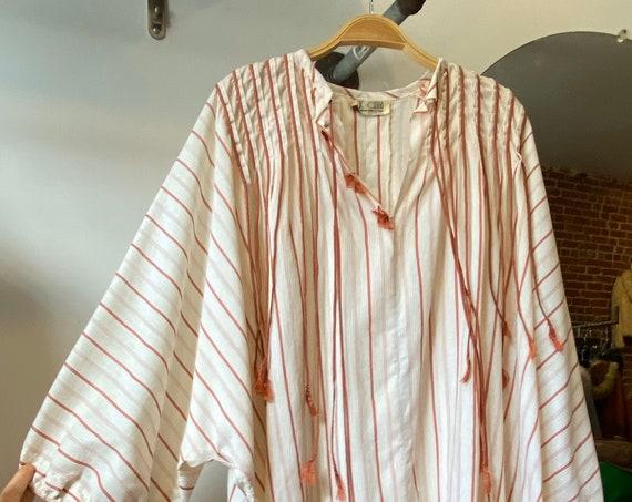 70s Cotton Bohemian Tunic