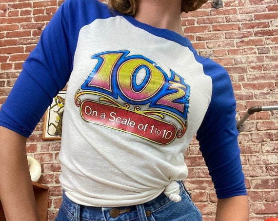 70s Iron On Baseball Vintage Tee 10 1/2 Out of 10