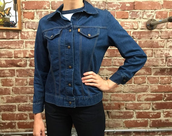 70s Women's Levi's Orange Tab Dark Denim Jacket