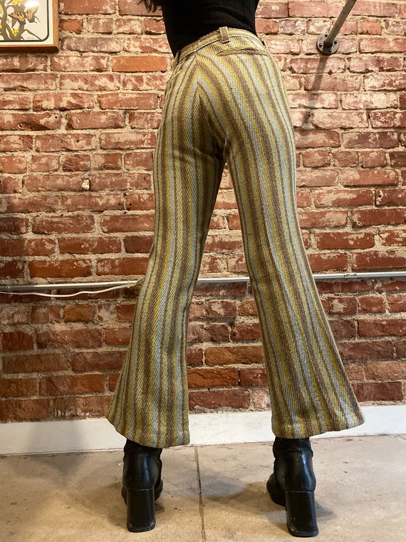 70s Ultra Mod Striped Flares