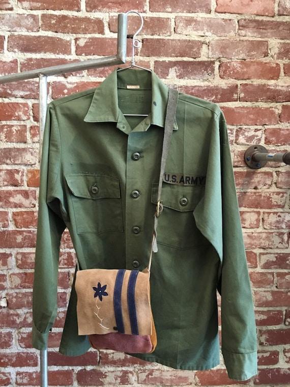 70s Men's Military Shirt