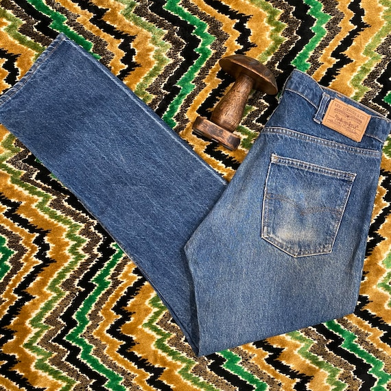"""70s Perfectly Aged 505 Levis 36"""" Waist"""