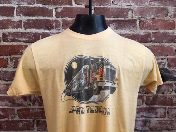 70s Men's Space Truckin' Tee copy write 1979
