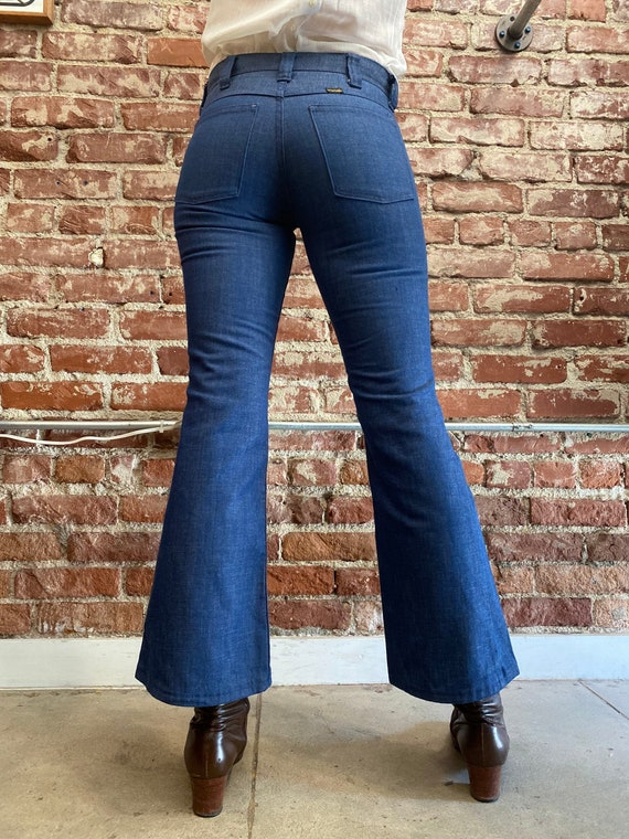 70s Button Fly Wrangler Flares