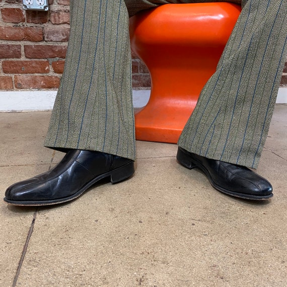 70s Mens Mod Striped Pants