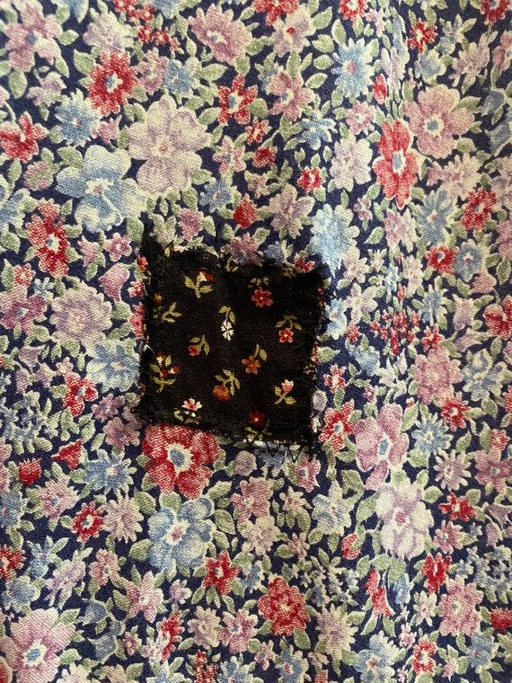 Early 80s Gunne Sax Cotton Prairie Skirt - image 9
