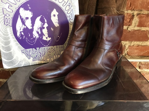 70s Men's Boots Size 11.5 AA by Breather Write