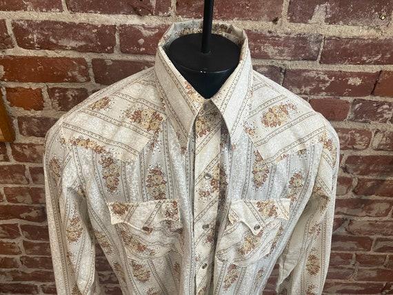 70s Men's Western Shirt