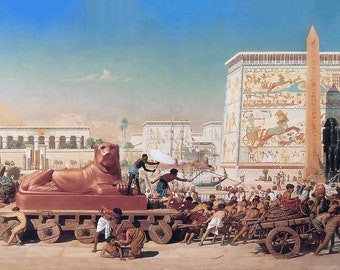 Egyptian Fire Art