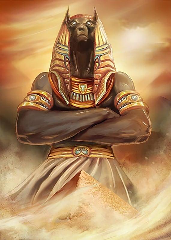 Egyptian mythology anubis wife sexual dysfunction