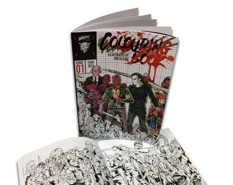 Alleycat Graphics Horror Colouring Book #1