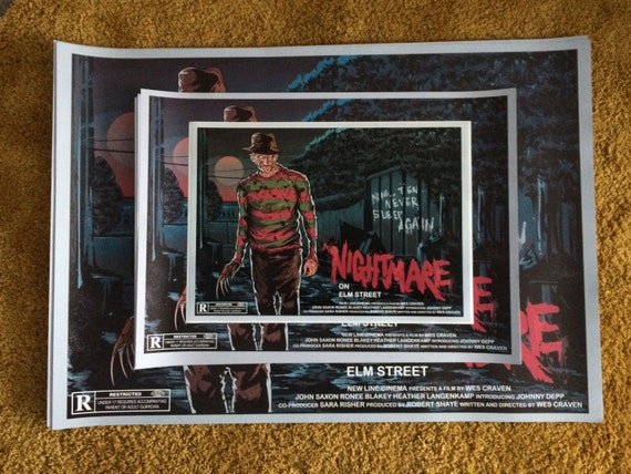 Nightmare Sur Elm Rue Signe Aimant