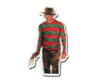 Freddy Krueger Die Cut Vinyl Sticker