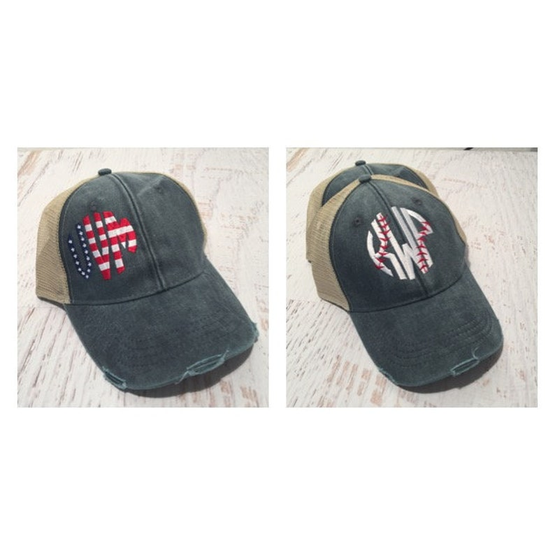 87b8d3ac689 Embroidered Trucker Hat Embroidered Hat Personalized