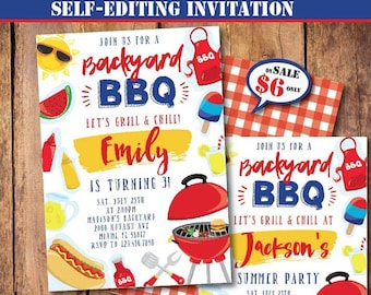 bbq birthday etsy